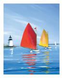 Horizon Light Affiches par Sally Caldwell-Fisher