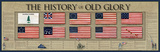 The History of Old Glory Plakater