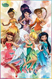 Disney Fairies - Friends Cartoon Poster Photo