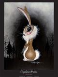 Chupacabra Poster par Angelina Wrona