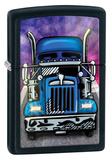 Big Rig Black Matte Zippo Lighter Lighter