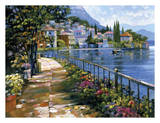 Sunlit Stroll Posters by Howard Behrens