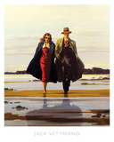 The Road to Nowhere Poster af Jack Vettriano