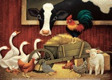 All My Friends Plakater af Lowell Herrero