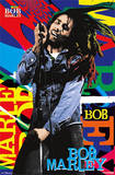 Bob Marley Pop Art Name Music Poster Prints