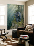 Black Bear (Indoor/Outdoor) Vinyl Wall Mural Wall Mural