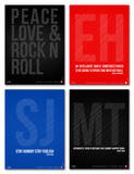 Inspiration Phrase Poster Set III Posters by  NaxArt
