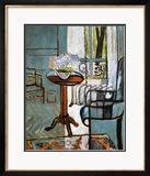 Vergissmeinnicht im Fenster Gerahmter Giclée-Druck von Henri Matisse