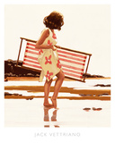 Sweet Bird of Youth (study) Poster van Vettriano, Jack