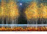 Melissa Graves-Brown - Modrý měsíc Plakát