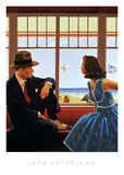 Edith and the Kingpin Plakater af Jack Vettriano