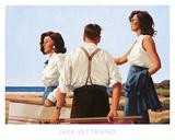 Junge Herzen Poster von Jack Vettriano