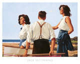 Young Hearts Prints by Jack Vettriano