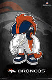 Denver Broncos - Rusher Football Poster Poster