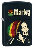 Bob Marley Black Matte Zippo Lighter Lighter