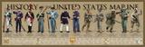 History of the United States Marine Umělecké plakáty