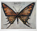 Papillon Collectable Print by Bernard Buffet