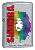 Shakira Rainbow Street Chrome Zippo Lighter Lighter