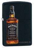 Jack Daniels Bottle Black Matte Zippo Lighter Lighter