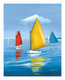 Newport Regatta Prints by Sally Caldwell Fisher