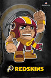 Washington Redskins - Rusher NFL Sports Poster Plakater