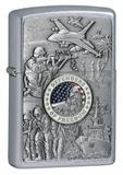 Joined Forces Emblem-Street Chrome Zippo Lighter Lighter