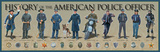 History of the American Police Officer Plakát