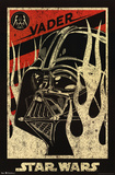 Star Wars Darth Vader Propaganda Movie Poster Pôsters