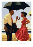 Bad Boy, Good Girl Print by Jack Vettriano