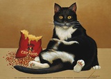 Felini Prints by Lowell Herrero