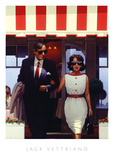 Lunchtime Lovers Plakat af Jack Vettriano