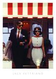 Jack Vettriano - Lunchtime Lovers Umělecké plakáty