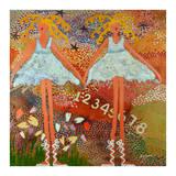 Desert Dance Posters by Caroline Benchétrit