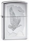 Birds Of Prey High Polish Chrome Zippo Lighter Lighter