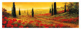 Toscano Panel I Print by Art Fronckowiak