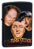 Zippo Lighter - Three Stooges Black Matte Lighter