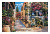 Riviera Stairs Posters by Howard Behrens