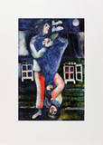 La Promenade Collectable Print by Marc Chagall