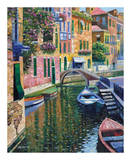 Romantic Canal Posters by Howard Behrens
