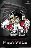 Atlanta Falcons - Rusher Football Poster Prints
