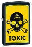 Toxic Black Matte Zippo Lighter Lighter