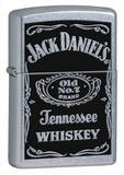 Jack Daniels Street Chrome Zippo Lighter Lighter