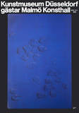 Embossed Mushrooms Collectable Print by Yves Klein