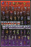 Transformers Line Up Posters