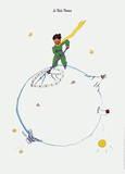 Le Petit Prince Prints by Antoine de Saint-Exupéry