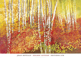 Golden Autumn Posters by Joan Metcalf