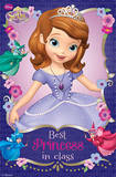 Sofia the First - Best Princess Cartoon Poster Poster