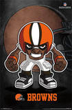 Cleveland Browns - Rusher Football Poster Print