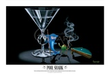 Pool Shark Print by Michael Godard