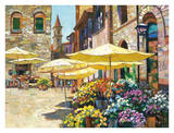Siena Flower Market Prints by Howard Behrens